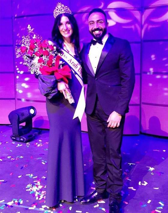 صور وفيديو: طالبة طب عراقية تفوز بتاج ملكة جمال العرب بأميركا صورة رقم 4