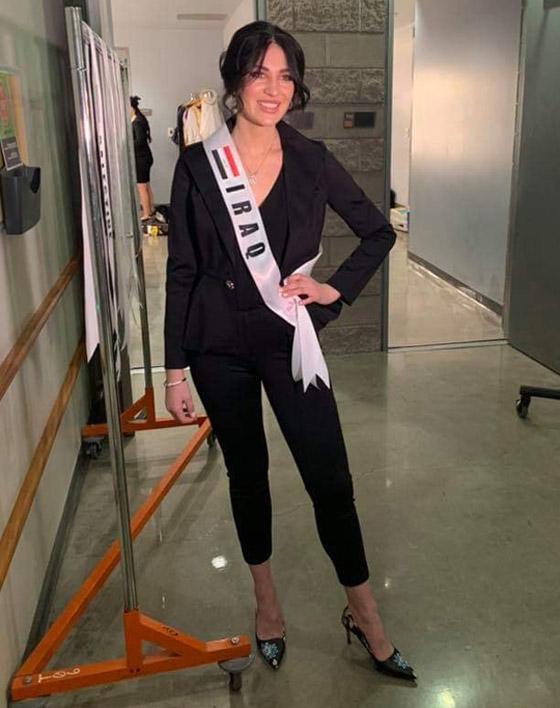 صور وفيديو: طالبة طب عراقية تفوز بتاج ملكة جمال العرب بأميركا صورة رقم 5