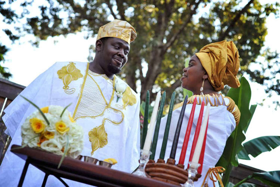 بالصور.. تعرفوا على أغرب تقاليد زواج شعوب أفريقيا صورة رقم 1