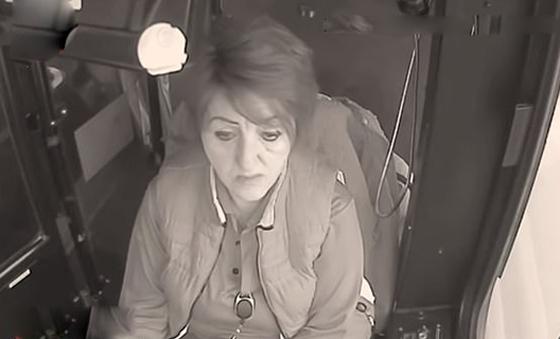 سائقة حافلة تنقذ طفلة وحيدة في درجات حرارة تحت الصفر.. فيديو صورة رقم 1