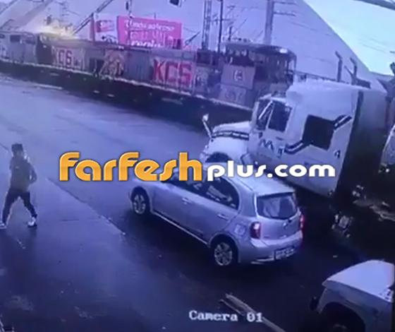 فيديو صادم.. مقطورة تدهس عجوز بطريقة مروعة صورة رقم 3