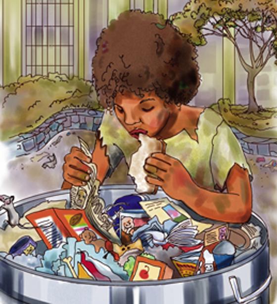 تصريح صادم لمديرة مدرسة بريطانية: تلاميذنا الفقراء يأكلون من صندوق القمامة! صورة رقم 2