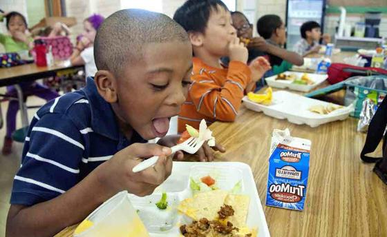 تصريح صادم لمديرة مدرسة بريطانية: تلاميذنا الفقراء يأكلون من صندوق القمامة! صورة رقم 4