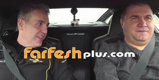 صورة رقم 6 - فيديو وصور: رجل أعمى يحقق حلمه ويقود سيارة فاخرة بسرعة جنونية!