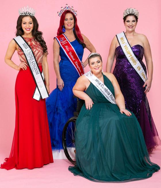 صورة رقم 2 - صور ملكة جمال على كرسي متحرك فازت بالتاج رغم  الشلل ومرض السرطان!