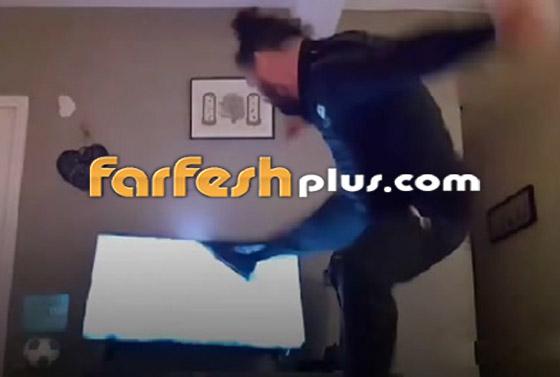فيديو صادم.. خسر فريقه المفضل فحطم 26 تلفازا!! صورة رقم 2