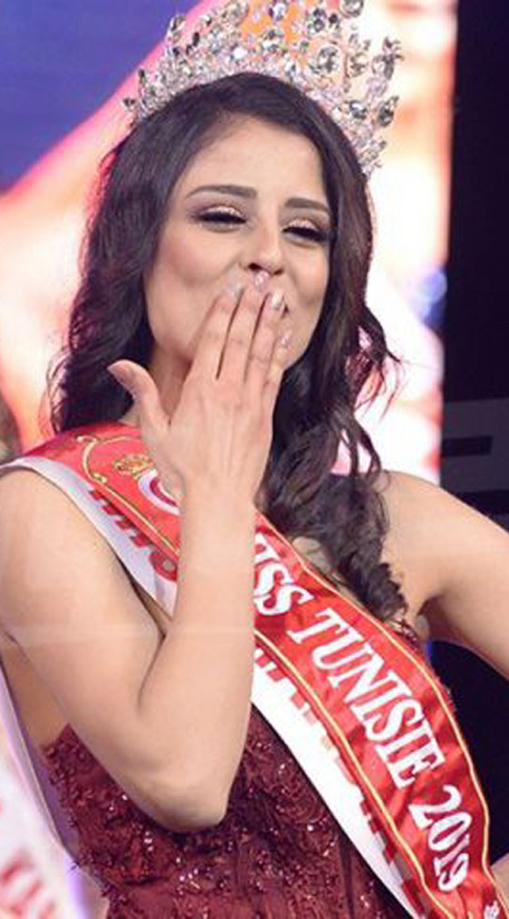 بالصور والفيديو: صابرين خليفة الفائزة بلقب ملكة جمال تونس لعام 2019 صورة رقم 6