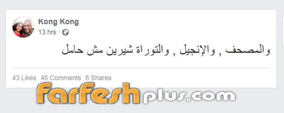شقيق شيرين عبد الوهاب يقسم بالمصحف والتوراة والانجيل: شيرين مش حامل صورة رقم 1