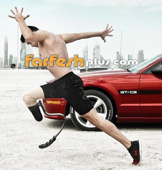 صورة رقم 1 - بعد أن خسر ساقه بحادث.. رياضي لبناني يريد تسلق برج خليفة ودخول غينيس