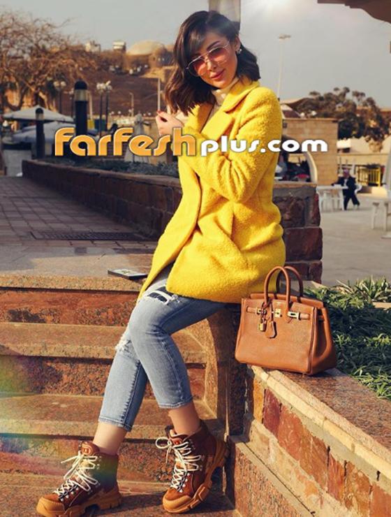 بسمة بوسيل زوجة تامر حسني تغيّر لون شعرها (على الموضة)، هل أعجبتك؟ صورة رقم 11