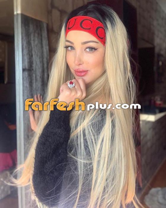 بسمة بوسيل زوجة تامر حسني تغيّر لون شعرها (على الموضة)، هل أعجبتك؟ صورة رقم 2