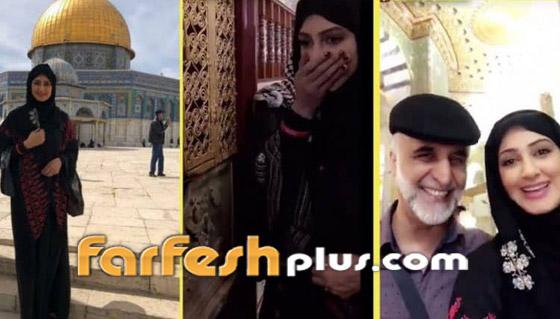 هيفاء حسين تغضب الكثيرين وتقول: المسجد الأقصى قبلة المسلمين واليهود! صورة رقم 4