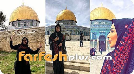 هيفاء حسين تغضب الكثيرين وتقول: المسجد الأقصى قبلة المسلمين واليهود! صورة رقم 6