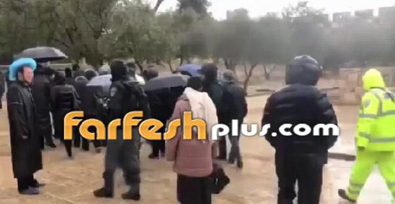صور وفيديو: يهود متطرفين يقتحمون المسجد الأقصى بحراسة الشرطة الإسرائيلية! صورة رقم 3