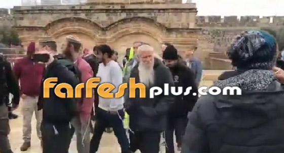 صور وفيديو: يهود متطرفين يقتحمون المسجد الأقصى بحراسة الشرطة الإسرائيلية! صورة رقم 6