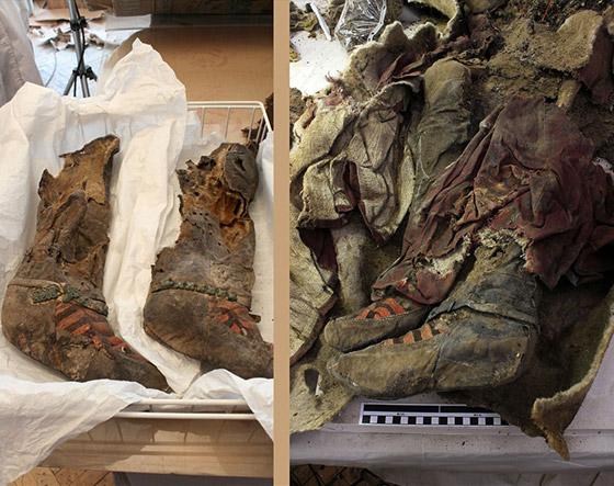صور  مومياء عمرها 1500عام تلبس حذاء اديداس! لا تصدّق كل ما تراه! صورة رقم 6