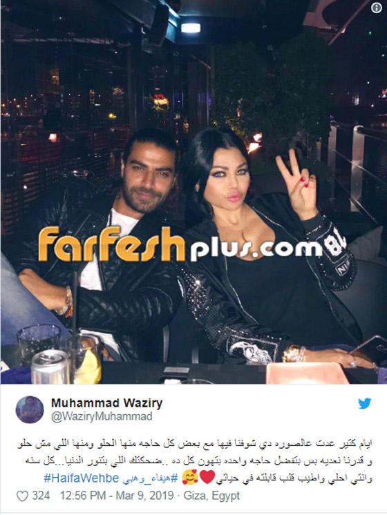 نجوم يعيشون قصص حب غامضة منهم هيفاء وهبي، عمرو دياب ودينا الشربيني صورة رقم 2