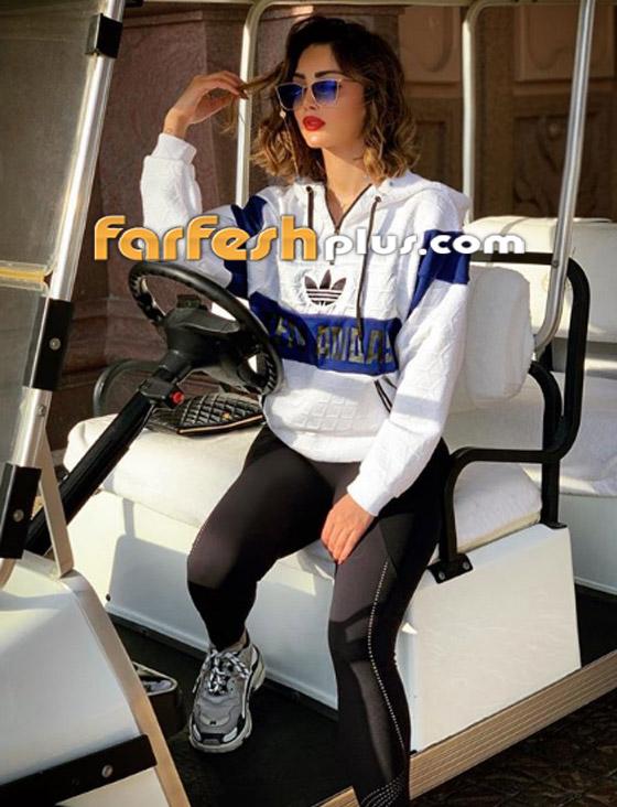بسمة بوسيل زوجة تامر حسني تغيّر لون شعرها (على الموضة)، هل أعجبتك؟ صورة رقم 10
