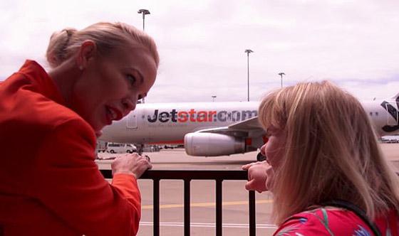 صورة رقم 5 - فييو مؤثر.. فتاة مصابة بمتلازمة داون تحقق حلمها وتصبح مضيفة طيران!