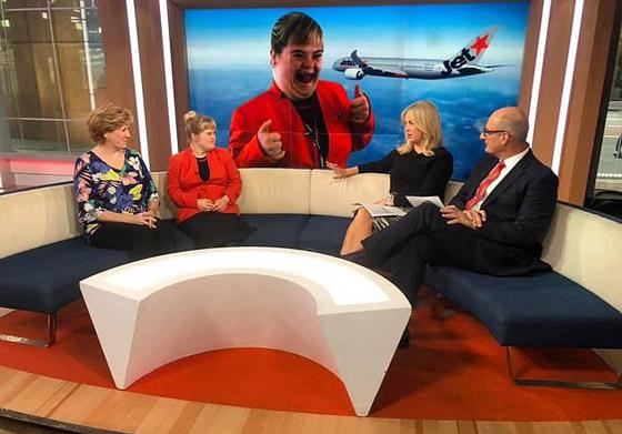 صورة رقم 11 - فييو مؤثر.. فتاة مصابة بمتلازمة داون تحقق حلمها وتصبح مضيفة طيران!