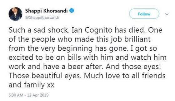 وفاة ممثل كوميدي بريطاني على المسرح والجمهور يضحك معتقدا أنه يمثل  صورة رقم 7
