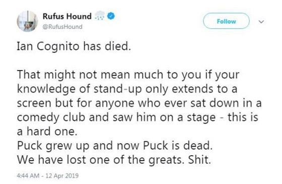وفاة ممثل كوميدي بريطاني على المسرح والجمهور يضحك معتقدا أنه يمثل  صورة رقم 10