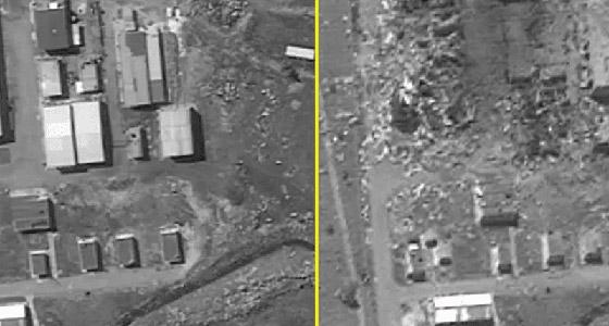 إسرائيل تنشر صورا فضائية لضرب مواقع إيرانية بسوريا صورة رقم 1