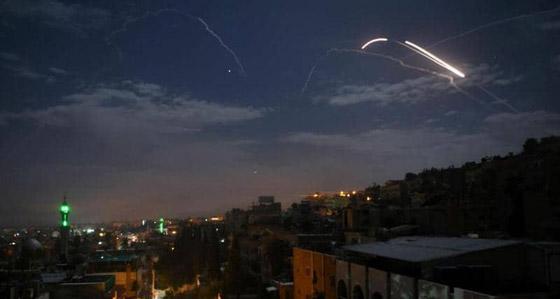 إسرائيل تنشر صورا فضائية لضرب مواقع إيرانية بسوريا صورة رقم 3
