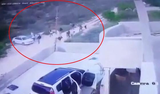 فيديو صادم: مستوطنون يهود يعتدون على عائلة فلسطينية صورة رقم 1