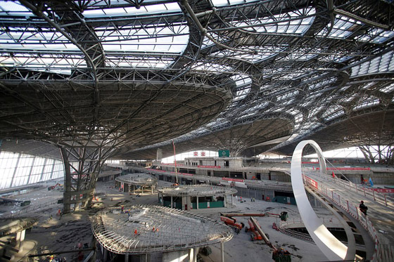 الصين تبني وتعتزم افتتاح أكبر مطار في العالم بمساحة مليون متر مربع صورة رقم 9