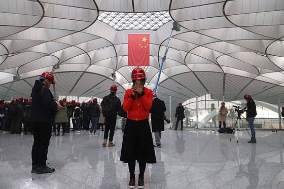 الصين تبني وتعتزم افتتاح أكبر مطار في العالم بمساحة مليون متر مربع صورة رقم 14
