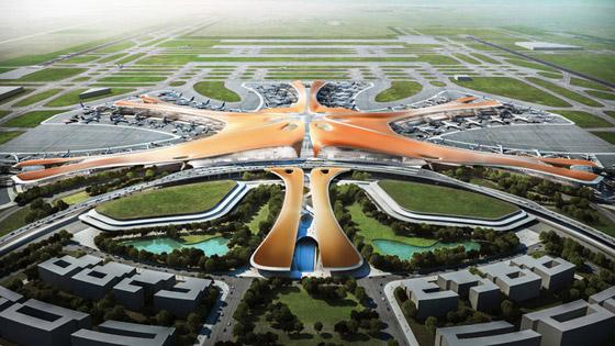 الصين تبني وتعتزم افتتاح أكبر مطار في العالم بمساحة مليون متر مربع صورة رقم 15