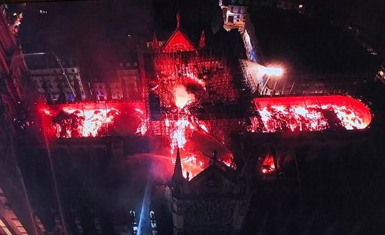 تصريح صادم لحاخام إسرائيلي متشدد عن سبب حريق نوتردام! صورة رقم 9