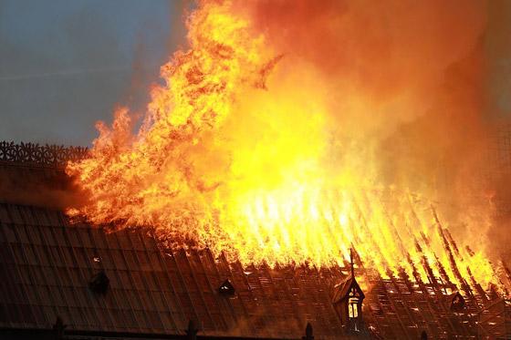 تصريح صادم لحاخام إسرائيلي متشدد عن سبب حريق نوتردام! صورة رقم 11