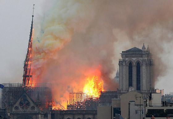 تصريح صادم لحاخام إسرائيلي متشدد عن سبب حريق نوتردام! صورة رقم 12