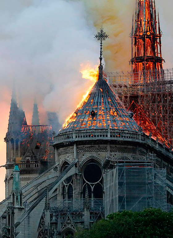 تصريح صادم لحاخام إسرائيلي متشدد عن سبب حريق نوتردام! صورة رقم 16