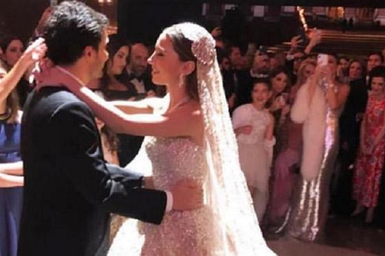 فيديو وصور زفاف ابن مُدير بنك لبنان بـ5 ملايين دولار وفستان العروس أسطوري صورة رقم 8