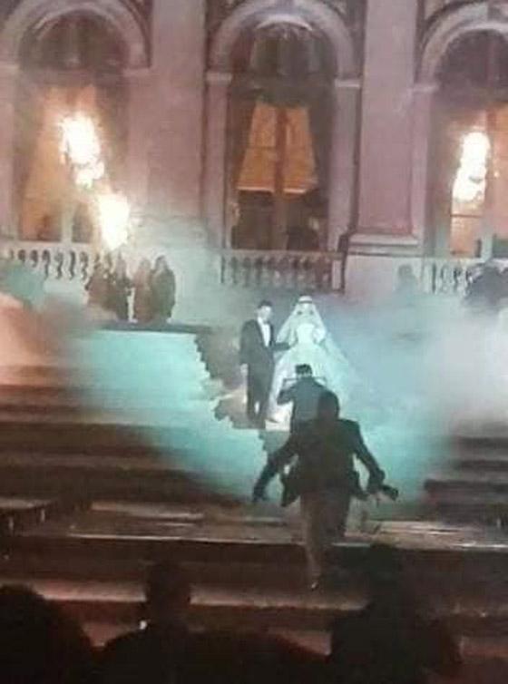 فيديو وصور زفاف ابن مُدير بنك لبنان بـ5 ملايين دولار وفستان العروس أسطوري صورة رقم 10