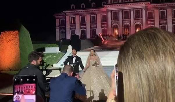 فيديو وصور زفاف ابن مُدير بنك لبنان بـ5 ملايين دولار وفستان العروس أسطوري صورة رقم 12
