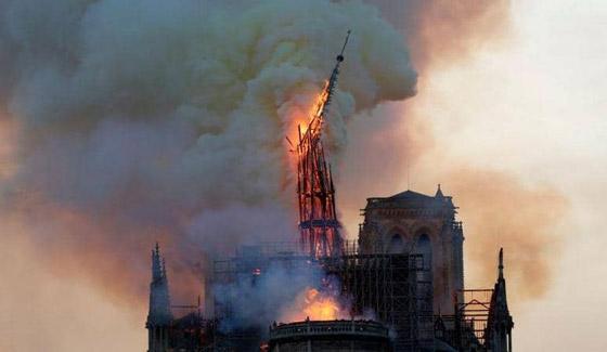 تصريح صادم لحاخام إسرائيلي متشدد عن سبب حريق نوتردام! صورة رقم 2