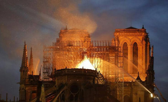 تصريح صادم لحاخام إسرائيلي متشدد عن سبب حريق نوتردام! صورة رقم 4