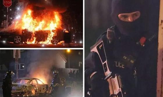 عمل إرهابي في أيرلندا الشمالية.. قنابل وأعمل عنف وشغب وسقوط قتيلة صورة رقم 8