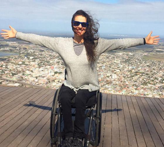 صورة رقم 6 - برازيلية مقعدة تتحدى إعاقتها وتطلق أول علامة تجارية لصاحبات الهمم