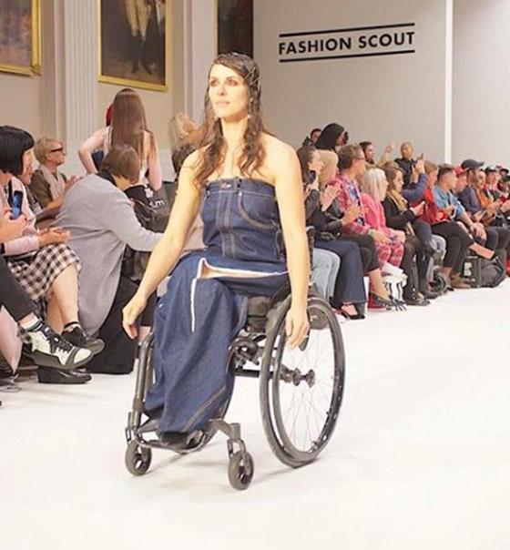 صورة رقم 8 - برازيلية مقعدة تتحدى إعاقتها وتطلق أول علامة تجارية لصاحبات الهمم