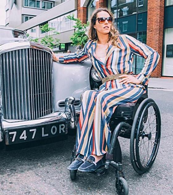 صورة رقم 4 - برازيلية مقعدة تتحدى إعاقتها وتطلق أول علامة تجارية لصاحبات الهمم