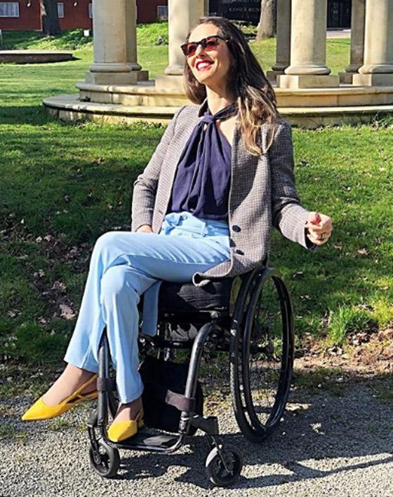 صورة رقم 17 - برازيلية مقعدة تتحدى إعاقتها وتطلق أول علامة تجارية لصاحبات الهمم