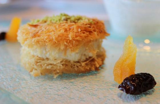صورة رقم 9 - حلويات رمضانية: طريقة عمل الكنافة بالقشطة