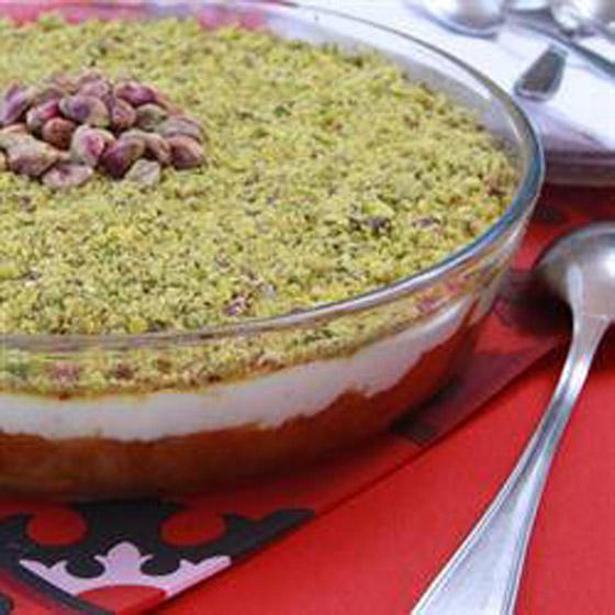 طريقة تحضير عيش السرايا الشهي والمميز لحلويات رمضان شرقية صورة رقم 13