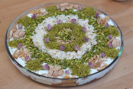 صورة رقم 1 - طريقة تحضير عيش السرايا الشهي والمميز لحلويات رمضان شرقية