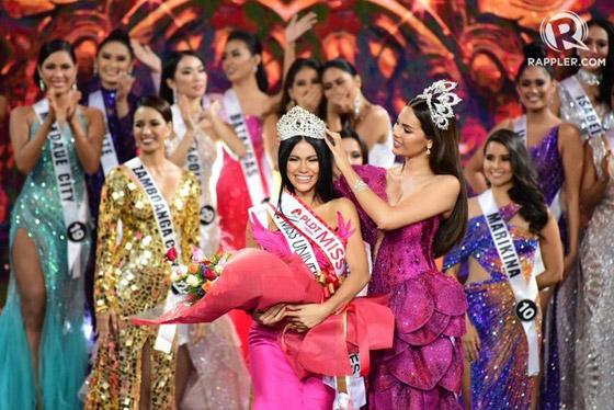 فيديو وصور ملكة جمال الفليبين الفلسطينية الأصل تؤدي رقصة شرقية وتبهر الجميع صورة رقم 9